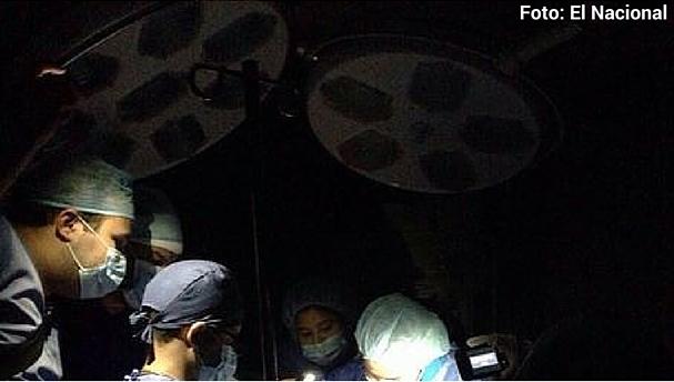 hospital-venezolano-sin electricidad Foto referencial
